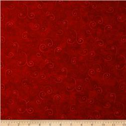 Moda Marble Swirls (990884) Flag Red Fabric