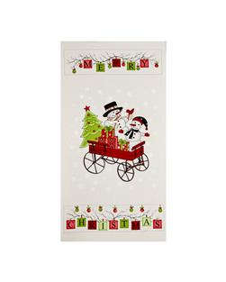 Purely Christmas Merry Christmas 24 In. Panel Multi