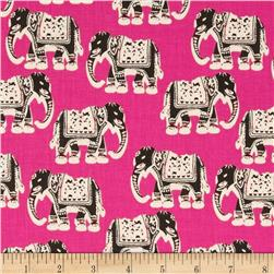Dear Stella Tigerlily Elephants Pink