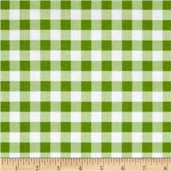 Riley Blake Basics Large Gingham Green