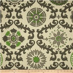 Premier Prints Rosa Blend Organic Green/Laken Fabric