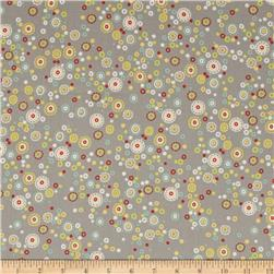 ADORNit Nested Owls Hoot Dot Gray