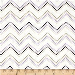 Riley Blake Ashbury Heights Chevron Purple