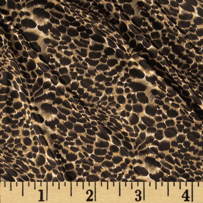 Silky Single Knit Animal Print