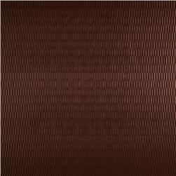 Luxury Faux Leather Embossed Stripe Bronze