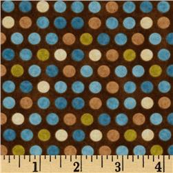 Kitty Kat Kapers Dots Brown