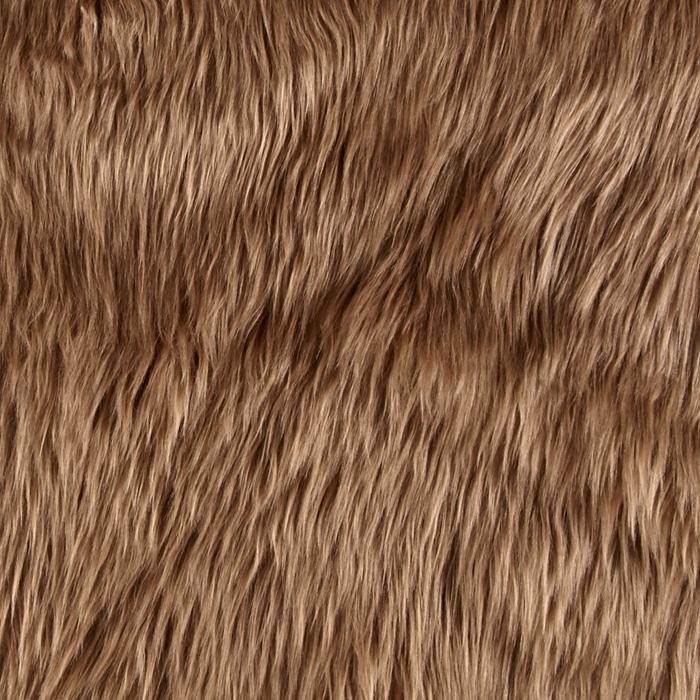 Faux Fur Luxury Shag Cocoa