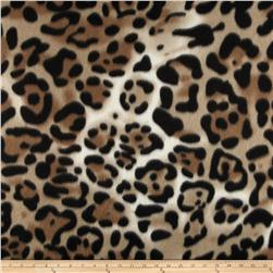 Fleece Print Savage Tan