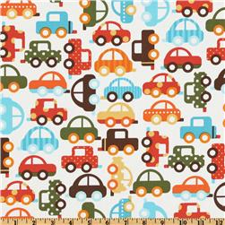 Ready Set Go Organic Bermuda Traffic Fabric