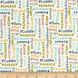 #Baby Chic Words Teal