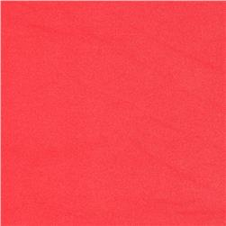 Techno Solid Coral Fabric