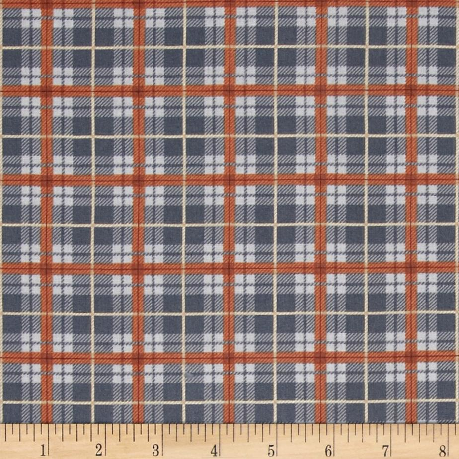 Out of the Den Plaid Grey
