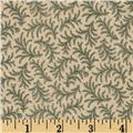 Amelia Tossed Feather Dark Sage