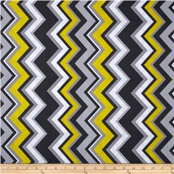 Michael Miller Chevy Chevron Citron Fabric
