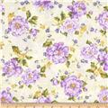 Perennials Cream/Violet