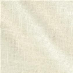 Harper Home Sunrise Linen Blend White