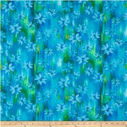 Kanvas Blue Paradise/Sundrenched Patio Posie Blue/Green