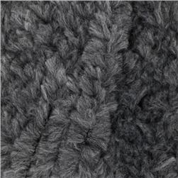 Lion Brand Luxe Fur Yarn (150) Ash