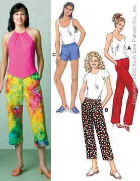 Kwik Sew Learn To Sew Pants and Shorts Pattern