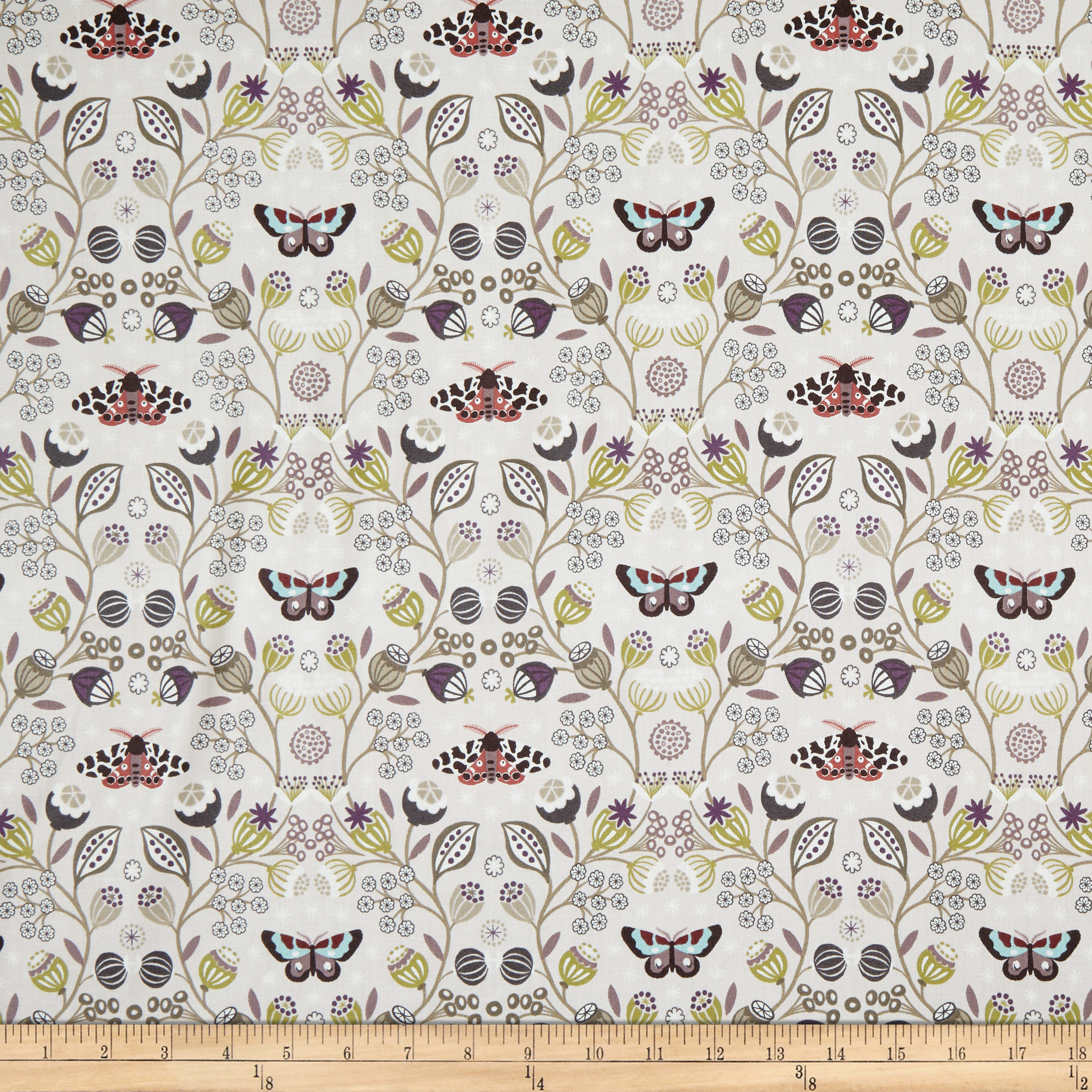 INOpets.com Anything for Pets Parents & Their Pets Lewis & Irene Winter Garden Winter Garden Natural Fabric