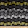 Michael Miller Citron Gray Chevron Asha Citron