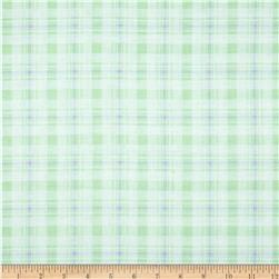 In the Nest Plaid Mint/Purple Fabric