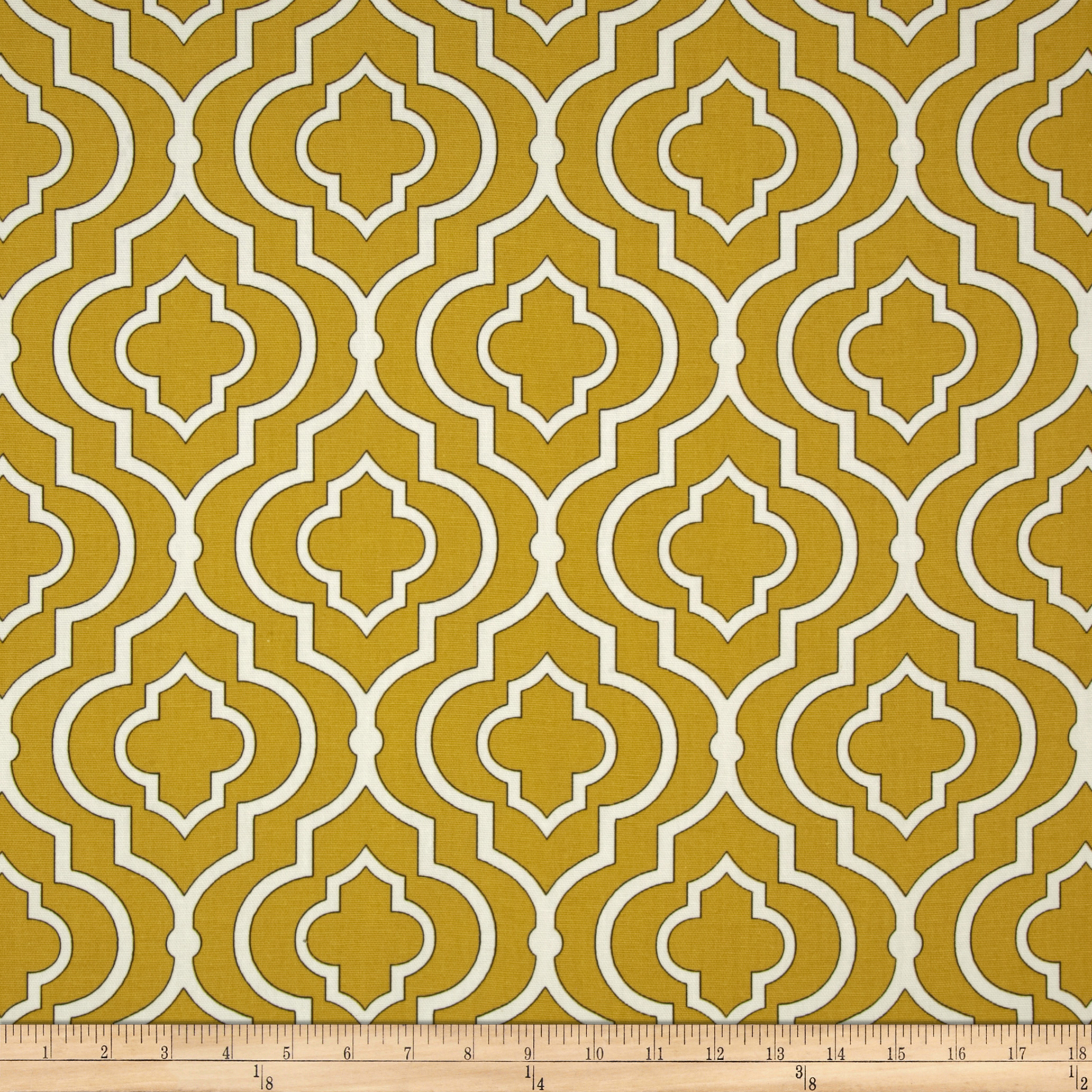 Swavelle/Mill Creek Donnetta Gold Fabric