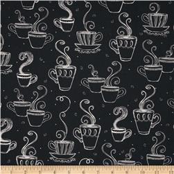 Blend Coffee Cups Black Fabric