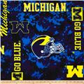 Collegiate Fleece Universtiy of Michigan Digital