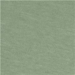 Jersey Knit Solid Sage Green