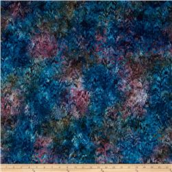 Kaufman Batiks Reflections Stripe Wineberry