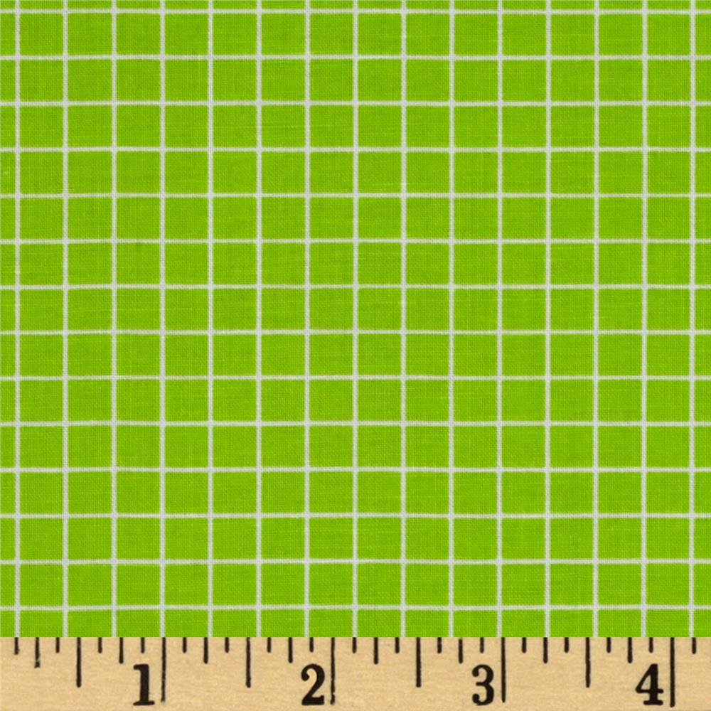 "Citrus 1/4"" Grid Lime"