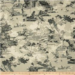 Premier Prints Birmingham Toile Mercury Fabric