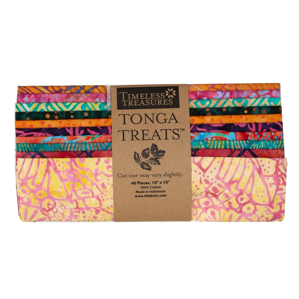 Timeless Treasures Tonga Batik Pashmina 10 In. Squares