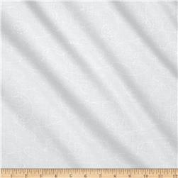 "108"" Wide Quilt Back Needle And Thread White"