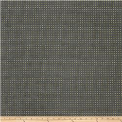Fabricut Perforated Faux Suede Chartreuse