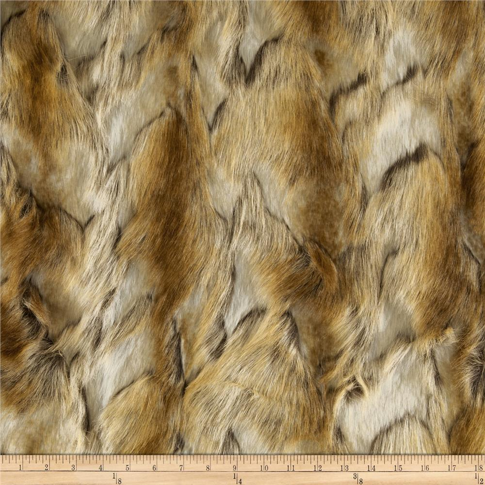 Faux Fur Brandy Fox Copper