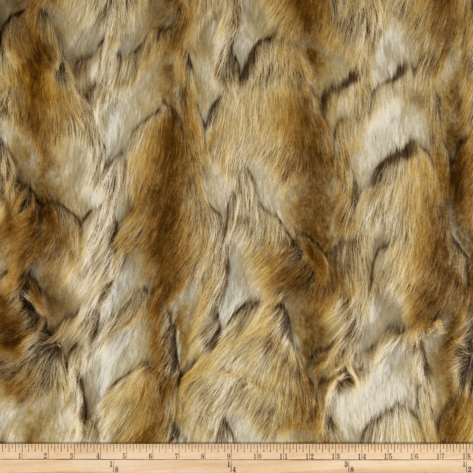 Faux Fur Brandy Fox Copper Fabric