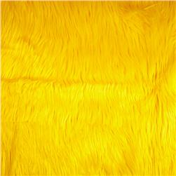 Faux Fur Gorilla Yellow