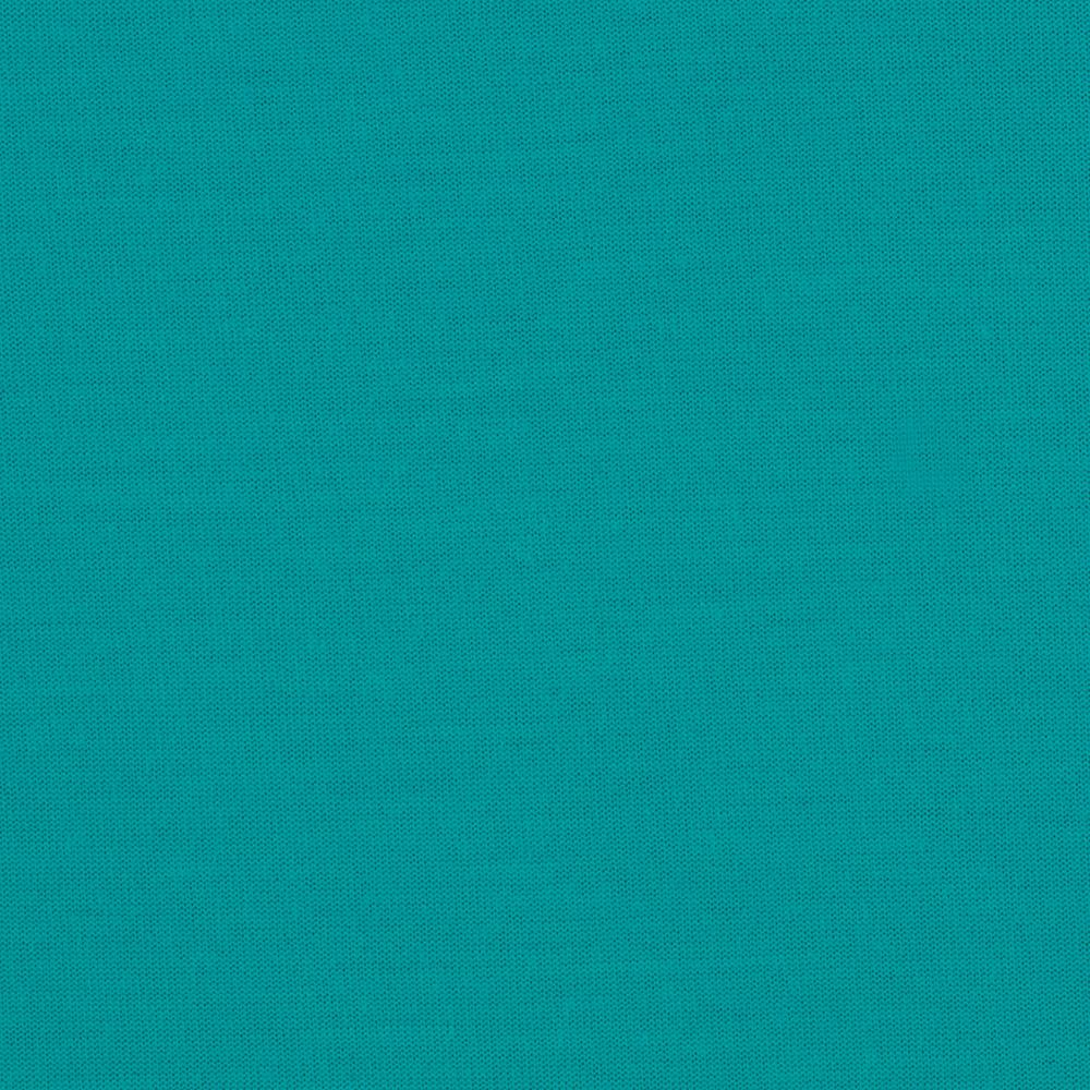 Rayon Poly Jersey Knit Solid Turquoise