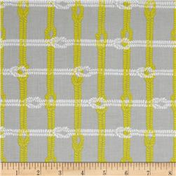 Riley Blake Maritime Modern Knotty Plaid Grey