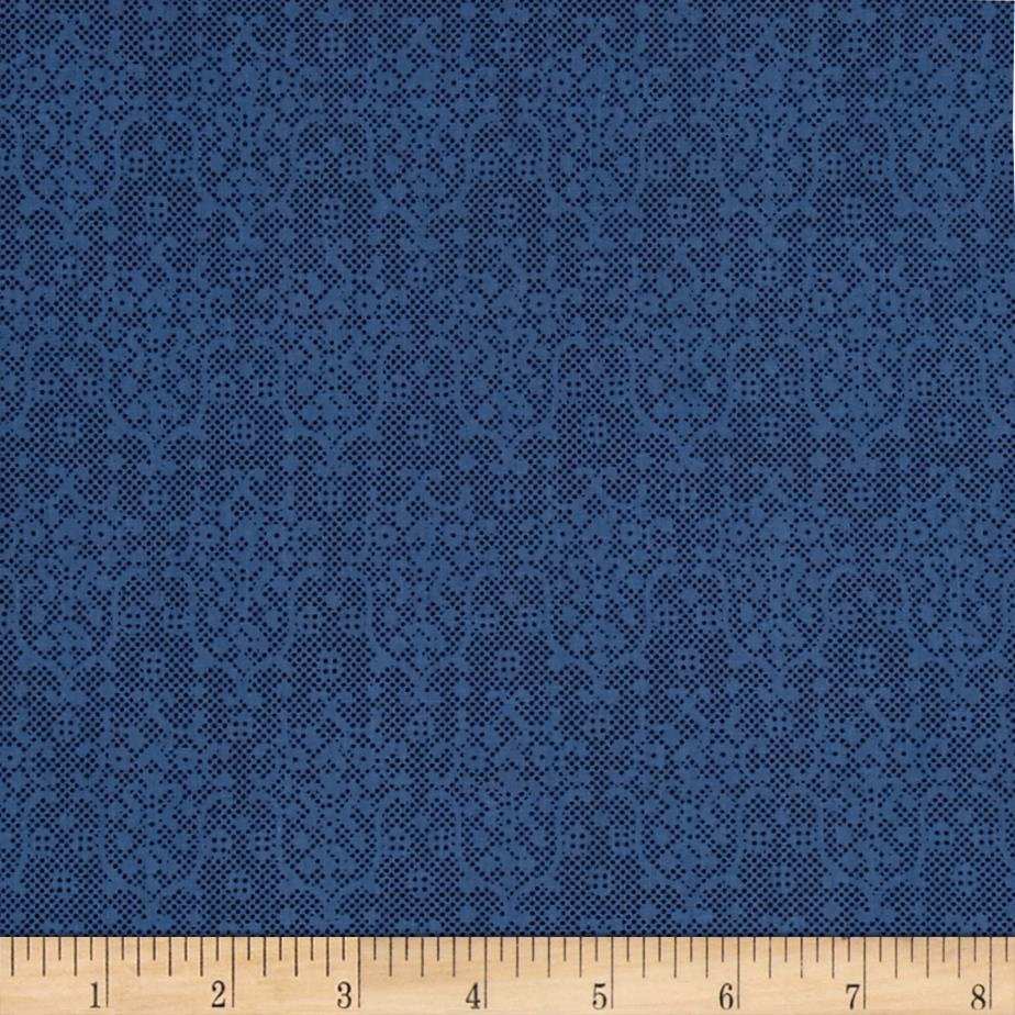 Windham Greatest Hits Lace Blue Fabric