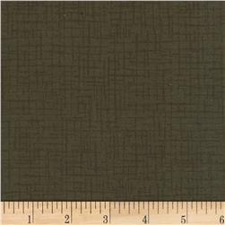 110 In. Wide Quilt Back Betula Flannel Olive