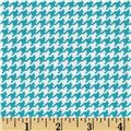 Michael Miller Tiny Houndstooth Marine