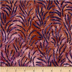Island Batik Desert Rose Feather Purple