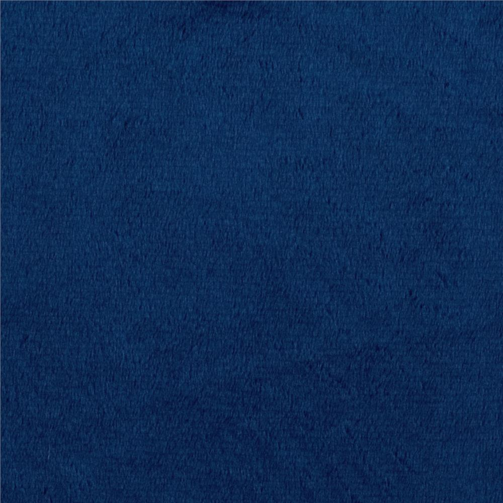 Shannon Minky Cuddle 3 Midnight Blue