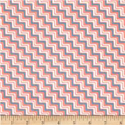 Graphix 3 Chevron Pink/Blue