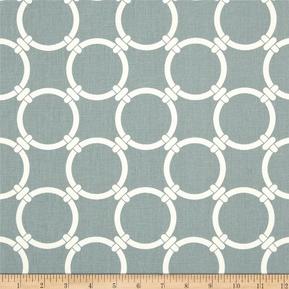 Premier Prints Linked Macon Saffron Grey
