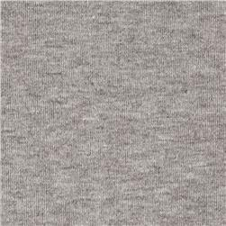 Cotton Blend Jersey Knit Gray