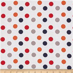 "Riley Blake 108"" Wide Medium Dot Boy"